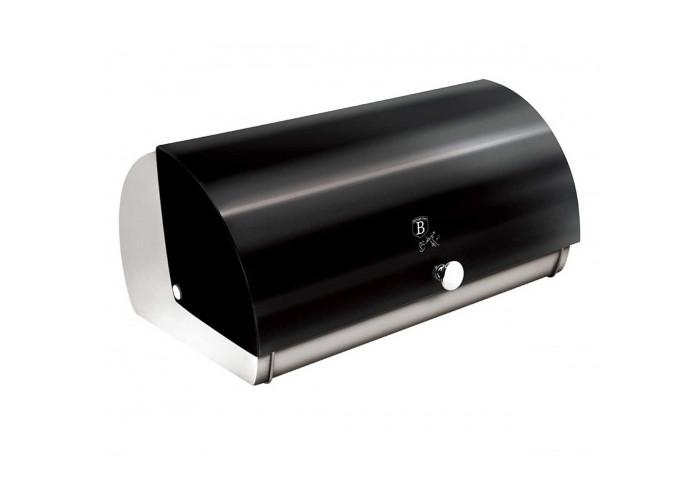 Хлебница цвет чёрный Berlinger Haus Black Silver 38.5x28x18.5см 6294-BH