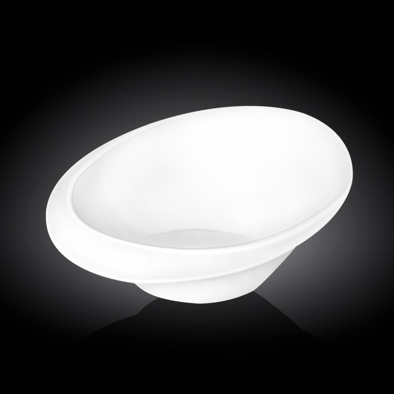 Білий порцеляновий салатник Wilmax 25см 970мл