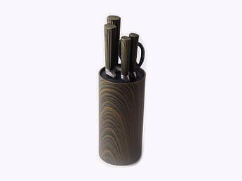 Набор ножей в коричневой колоде Con Brio 6пр