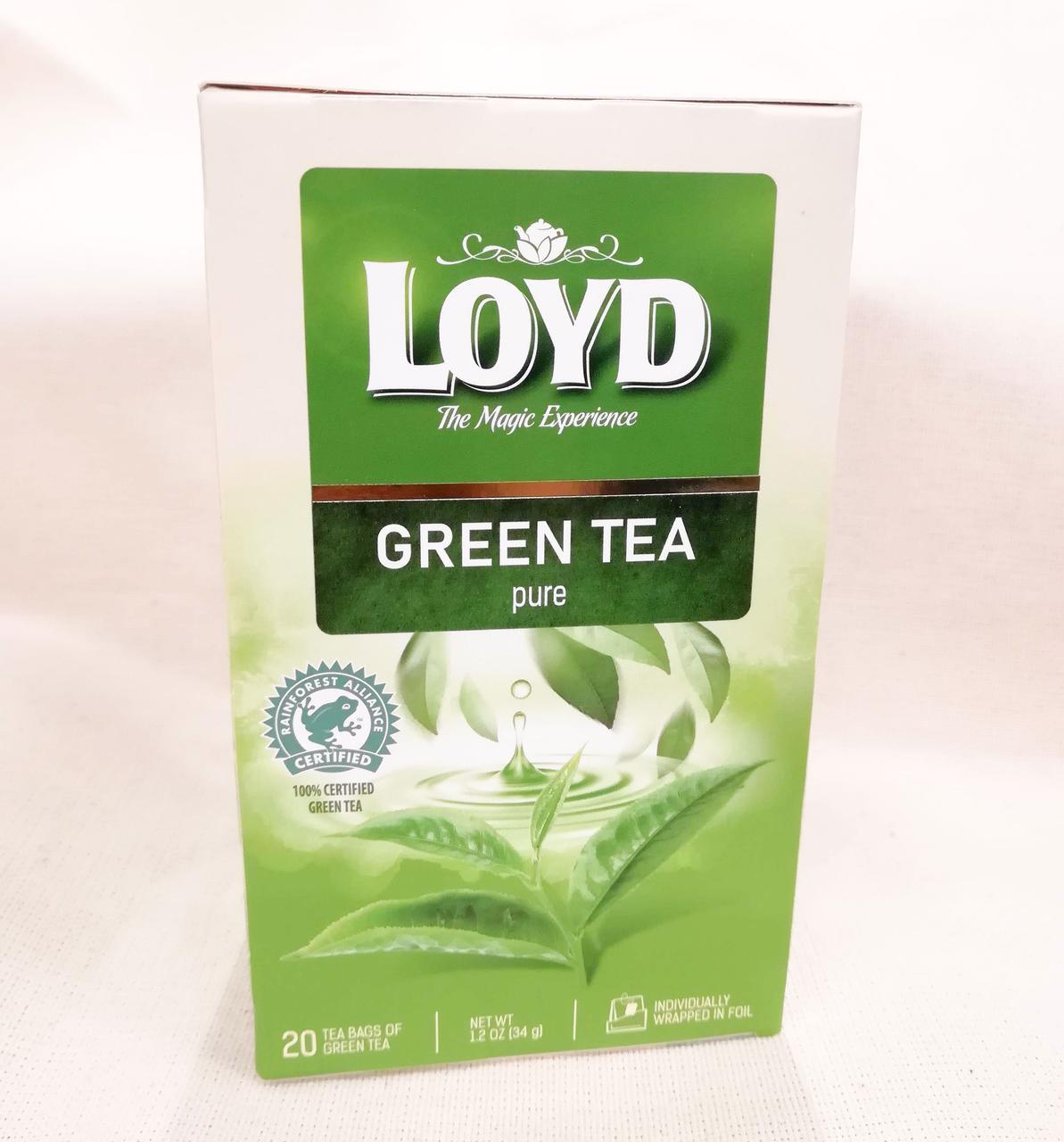 Чай LOYD Green tea