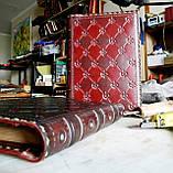 Кожаный блокнот ежедневник винтажный ручной работы оригинальный подарок, фото 2