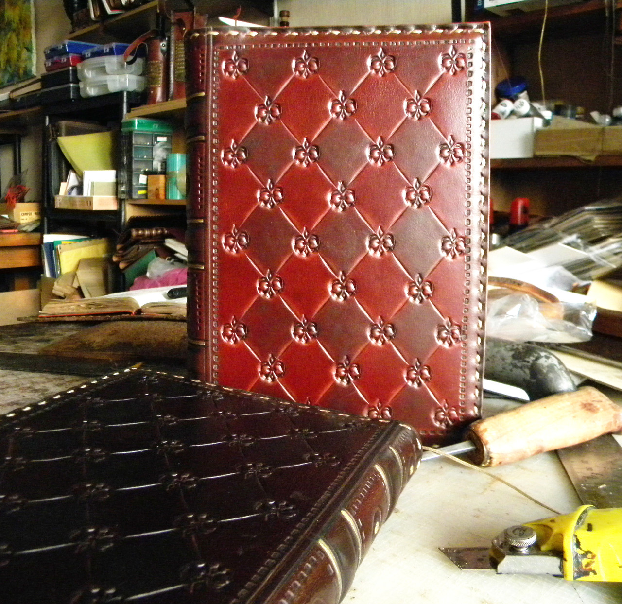 Кожаный блокнот ежедневник винтажный ручной работы оригинальный подарок
