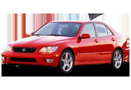 Дефлекторы на боковые стекла (Ветровики) для Lexus (Лексус) IS 1 (XE10) 1999-2005