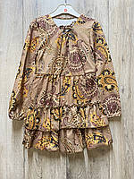 Трикотажное платье. 4- 14 лет.