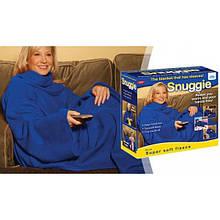 Плед с рукавами Snuggie, синий