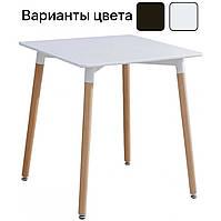 Столик кухонний обідній Bonro В-950-800 80х80х75 см стіл для кухні, фото 1