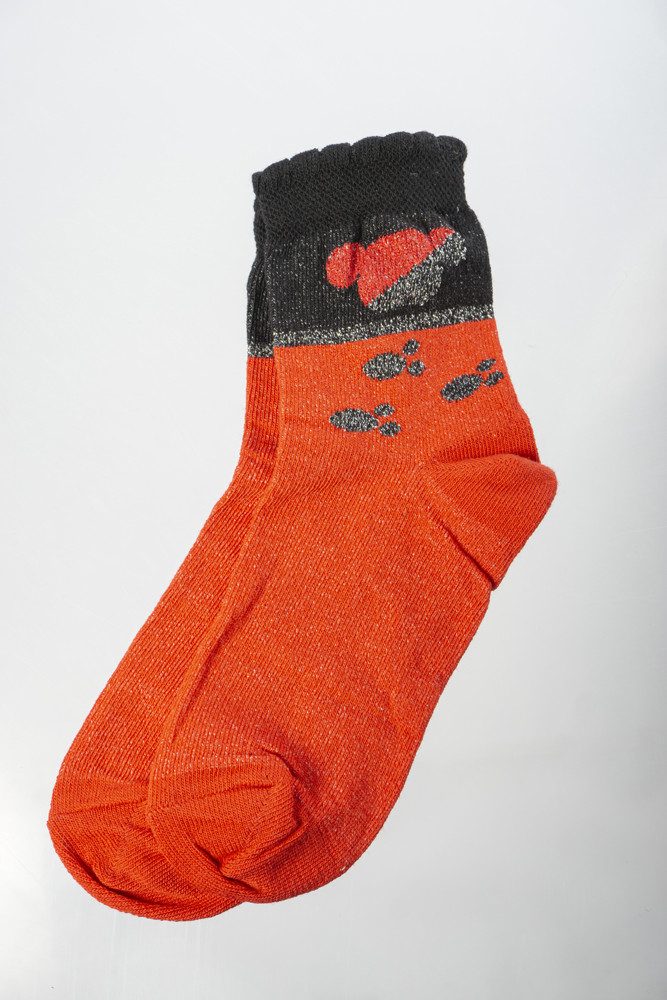 Носки женские 168P059 junior (Красный)