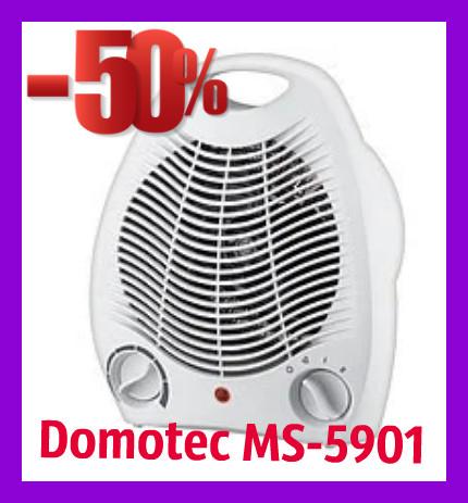Дуйка, обогреватель, тепловентилятор Domotec MS-5901 Тепловентилятор-дуйка Domotec MS 5901