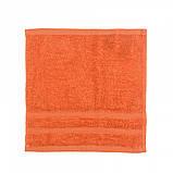 Махровое полотенце Luxury, Терракот (Лицо 50*90см), фото 4