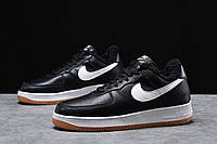 Зимние мужские кроссовки 31733, Nike Air AF1 (мех), черные, [ 41 42 44 ] р. 41-26,0см.