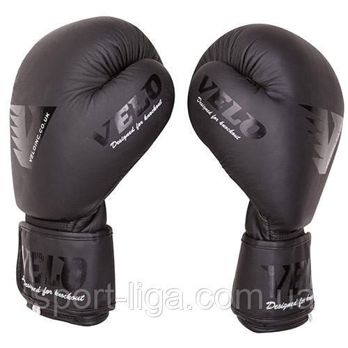 Боксерские перчатки Velo Mate, кожа, 10 12oz