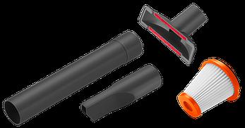 Комплект аксессуаров для аккумуляторного мініпилососа EasyClean  | 09343-20.000.00, фото 2