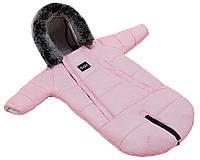 Зимний конверт Bair North premium розовый