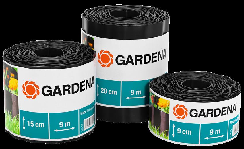 Бордюр садовый коричневый 9м*20см    00534-20.000.00