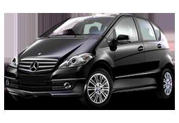Дефлекторы на боковые стекла (Ветровики) для Mercedes (Мерседес) A-class W169 2004-2012