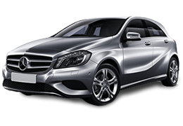 Дефлекторы на боковые стекла (Ветровики) для Mercedes (Мерседес) A-class W176 2012-2018