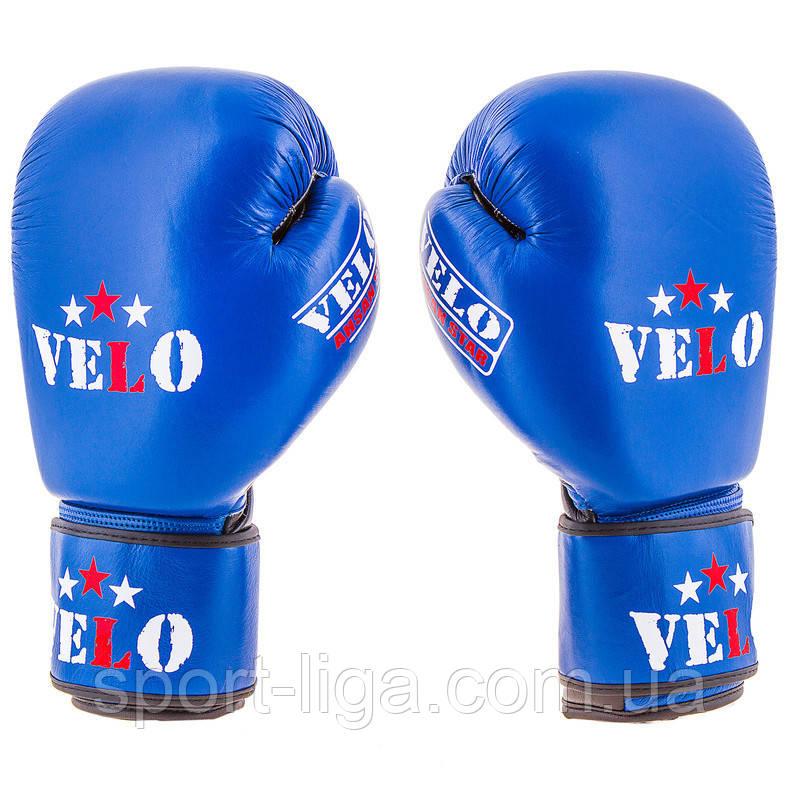 Рукавички для боксу Velo AIBA, шкіра
