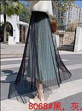 Спідниця-плісе жіноча модна стильна розмір універсальний 42-48, купити оптом зі складу 7 км Одеса