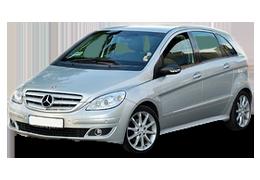 Дефлекторы на боковые стекла (Ветровики) для Mercedes (Мерседес) B-class W245 2005-2010