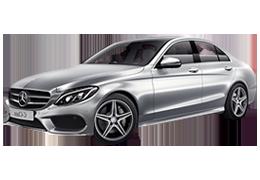 Дефлекторы на боковые стекла (Ветровики) для Mercedes (Мерседес) C-class W205 2014+