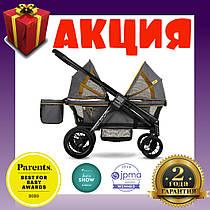 Прогулочная коляска для 2-х детей Evenflo Pivot Xplore All-Terrain Stroller Wagon Adventurer. Гарантия 2 года!
