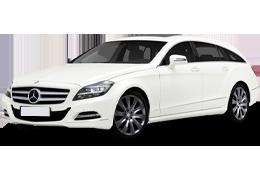 Дефлекторы на боковые стекла (Ветровики) для Mercedes (Мерседес) CLS-class C218/X218 `10-18