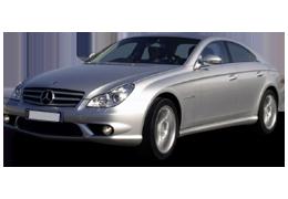 Дефлекторы на боковые стекла (Ветровики) для Mercedes (Мерседес) CLS-class C219 2004-2010