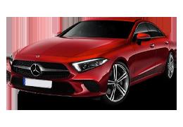 Дефлекторы на боковые стекла (Ветровики) для Mercedes (Мерседес) CLS-class C257 2018+