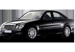 Дефлекторы на боковые стекла (Ветровики) для Mercedes (Мерседес) E-class W211 2002-2009