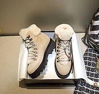 Теплые комфортные ботинки Nicholas Kirkwood  (реплика), фото 1