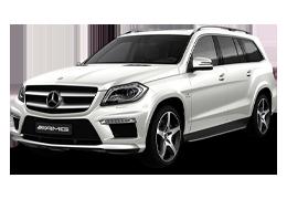 Дефлекторы на боковые стекла (Ветровики) для Mercedes (Мерседес) GLS-class X166/GL 2015-19