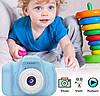 Цифровой детский фотоаппарат +камера Summer Vacation Smart Kids KVR Blue