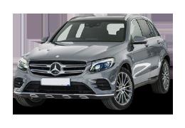 Дефлекторы на боковые стекла (Ветровики) для Mercedes (Мерседес) GLC (X253) 2015+