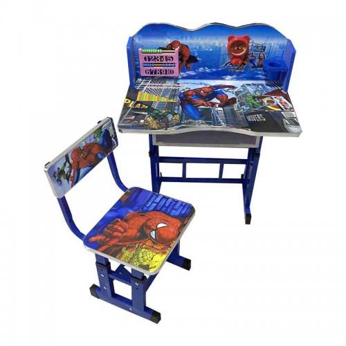 Парта детский письменный стол и стул Человек Паук