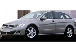 Дефлекторы на боковые стекла (Ветровики) для Mercedes (Мерседес) R-class W251 2005+