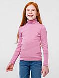 Гольф-стойка с отворотом для девочки Смил, арт. 114774/114775/114776, возраст от 4 до 14 лет, фото 2