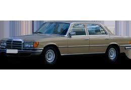 Дефлекторы на боковые стекла (Ветровики) для Mercedes (Мерседес) S-class W116 1972-1980