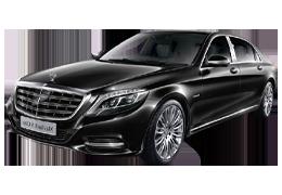 Дефлекторы на боковые стекла (Ветровики) для Mercedes (Мерседес) S-class W222 2013+