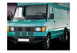 Дефлекторы на боковые стекла (Ветровики) для Mercedes (Мерседес) T1 (TN) 1977-1996