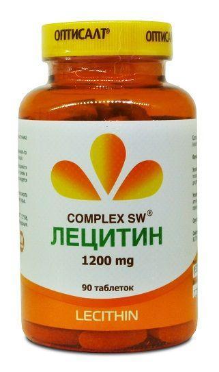 Лецитин, 90 кап., Оптисалт