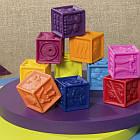 Развивающие Силиконовые Кубики - Посчитай-Ка! Battat BX1002Z, фото 4