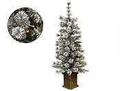 """Ялинка штучна """"Белла"""", 120см, 90 гілок, 50 LED, світло - теплий білий"""