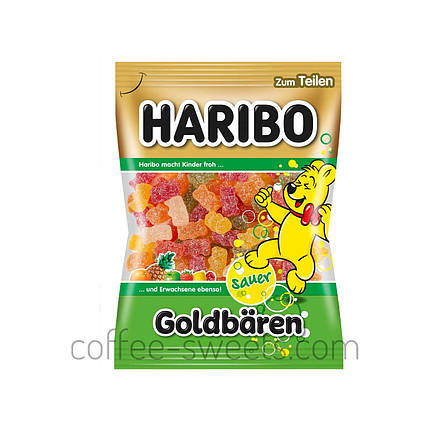 Мармелад HARIBO 200 г Goldenbaren (в сахаре), фото 2