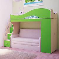 Кровать детская с диваном лдсп 18мм