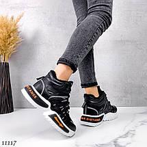 Крутые кроссовки на высокой подошве 11117 (ЯМ), фото 3