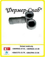 Переходник квадрат-труба для трубы 22*22