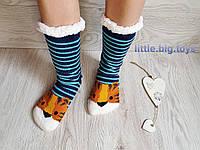 Женские теплые меховые носки, носки женские