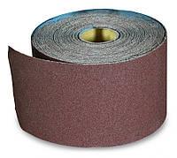 Бумага наждачная 200мм х 50м, №40 на тканевой основе SPITCE