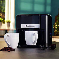 Капельная кофеварка с 2 чашками Domotec MS-0706 White, фото 1