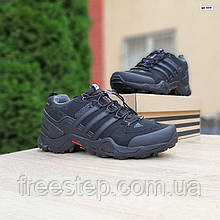 Чоловічі зимові кросівки Swift чорні з сірим